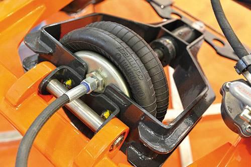 空气弹簧厂家教你选用适宜的空气弹簧