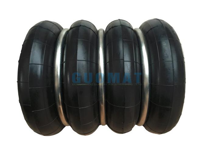 橡胶空气弹簧广泛应用的原因在于他的这些特性