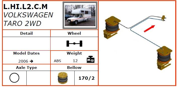 L.HI.L2.C.M/大众空气悬挂系统/大众空气悬挂/大众TARO 2WD(2006-)-Dunlop空气悬架
